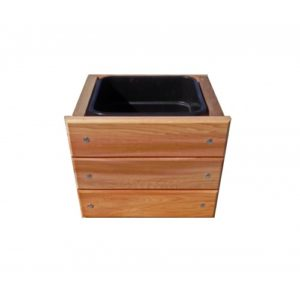 "9"" Square Planter Box"